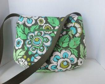 Hobo Bag - Amy Butler Bag - Bucket Bag - Slouchy bag Amy Butler