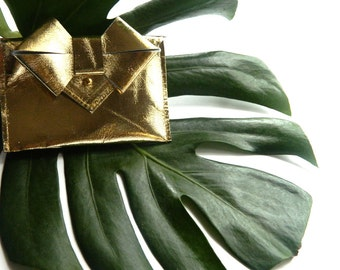 LAST CALL - Aoki Bow Wallet - Gold