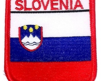 Slovenia Embroidered Patch
