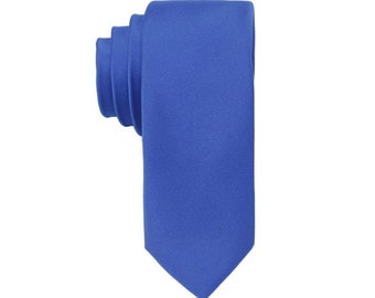 Royal Blue Ties.Silk Skinny Ties.Royal Blue Wedding Ties.Ties for Men