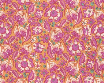 Chipper by Tula Pink - Sorbet Wild Vines - Fabric by the yard
