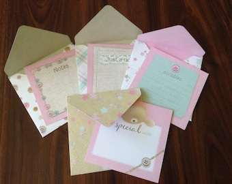 4 Forever Friends Bear Note Card & Envelope Pack
