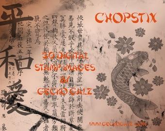 CHOPSTIX Digital Stamp Set