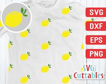 Lemon svg - Lemon Print - Lemon Cut File - svg - eps - dxf - png - Svgcuttables - Lemon clip art - Lemon Pattern - Silhouette - Cricut File