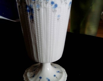 A.Giraud Brousseau floral bone China goblet.