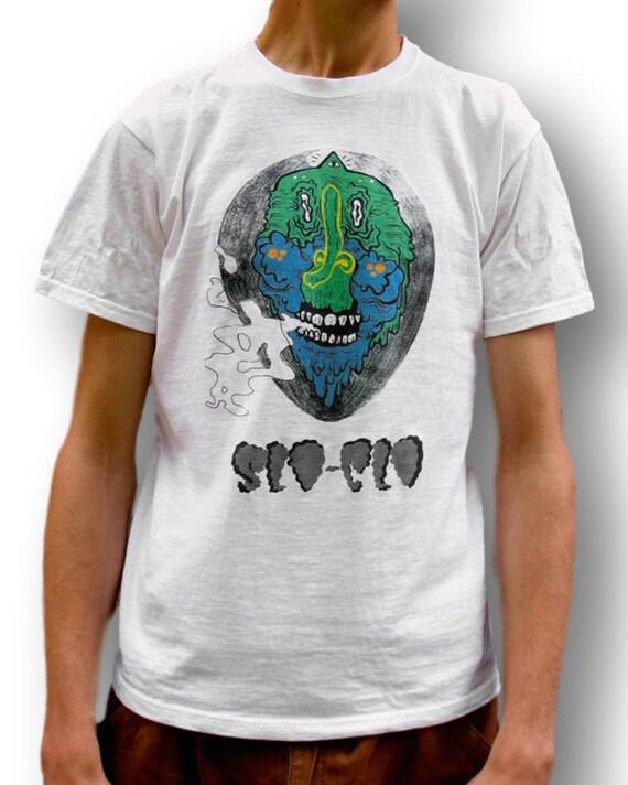 Alien Shirt, Indie T Shirt, 90s Grunge T Shirt, Graphic Tee, Men's Tumblr Tee, Women's Tumblr Tee, Men's Baggy Tee, Men's Indie Clothing,