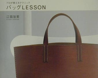 BAG LESSON by UMAMI - Japanese Craft Pattern Book Japanese Sewing patterns Book Cloth bags