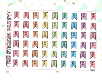 PAY DAY Flag Planner Stickers