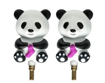 HiyaHiya Interchangeable Panda Cable Stoppers-Large and Small
