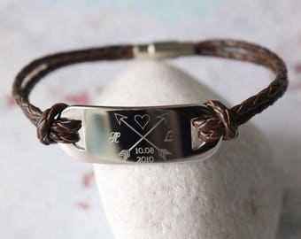 His and Her Bracelet  - His and Her Gift