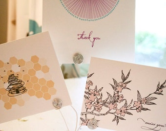 Note Card MIx and Match Stationery Set of 10