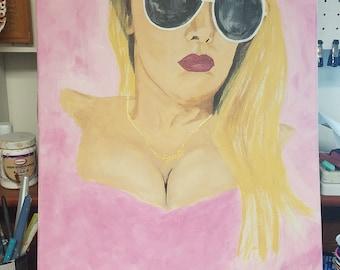 Custom Acrylic Pop Painting
