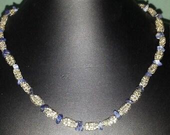 Soladite chip necklace