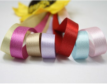 Ribbons silver polyester DIY accessories, 38mm 000-835
