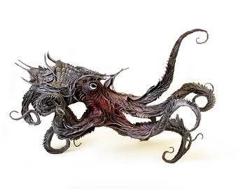"strange and gentle XIX - octopus - Original Giclee Edition Print - 13x19"""