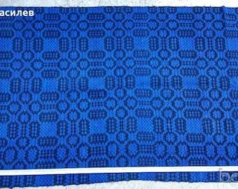 Woven hand-woven rug 90x250 cm.