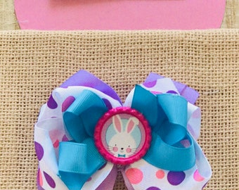 Layered 4 inch Easter Bow