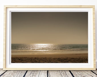 Sunset in El Palmar, Cadiz. Photo. Landscapes of Spain. Sun and light. Printable image for download. From Spain with Love
