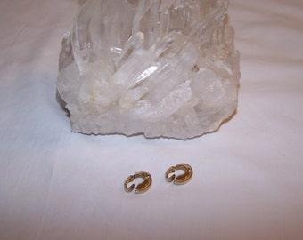 Avon Gold Tone Clip-on Earrings