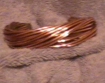 12 WIRE NATURAL Copper Bracelet