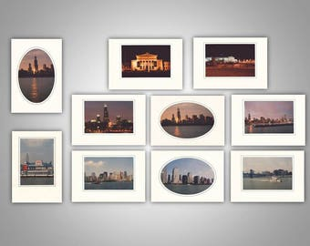 Chicago and New York Photo Note Cards (pack of 10)