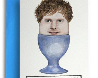 Egg Sheeran Card