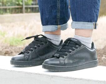 Black Vintage leather shoes number 39 IT brand KUSTOM OOAK