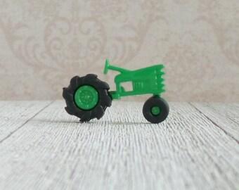 Tractor - John Deere - Green Tractor - Farm Equipment - Fields - Farmer - Lapel Pin