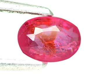 0.63 Ctw Outstanding Pink Blast Unheated Item Natural Pink Sapphire