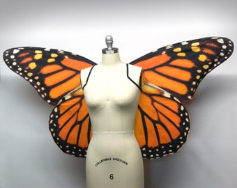 Fairy Wings Large Monarch Butterfly Costume Wings, Butterfly Halloween Costume, Butterfly Wings, Fairytale Wings