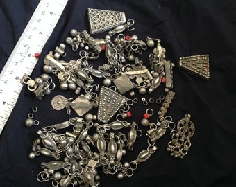 Yemen silver components for your jewelry making artistry