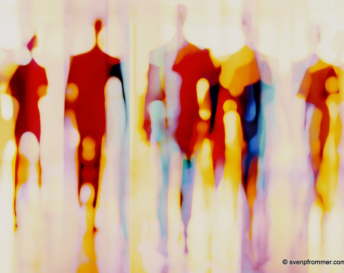 HUMANTOUCH I by Sven Pfrommer - Artwork is ready to hang