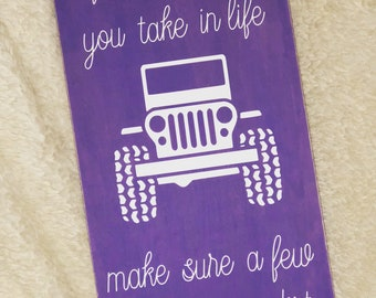 Custom Jeepers Sign