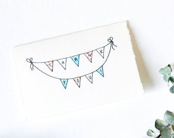 Simple Thank You Card - Thank You Banner