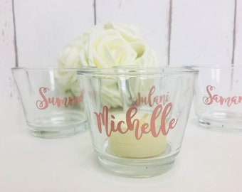 Candle Wedding Favours | Bridesmaid Gift | Bridesmaid Candle | Wedding Favours | Personalised Bridesmaid Gifts | Personalised Wedding Candle