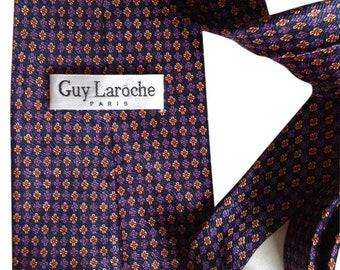 Vintage Guy Laroche Tie silk