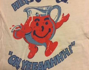 Vintage kids size kool-aid shirt