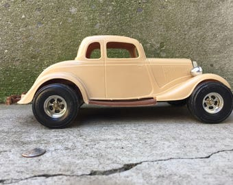 Toy Car, 1934 Ford Victoria, Vintage Toys, Cars, Collectible Car, Childrens Toys, Durant Plastics USA