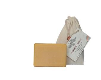 Avocado - Lemon all natural soap, handmade soap, cold process soap, vegan soap, essential  oil soap
