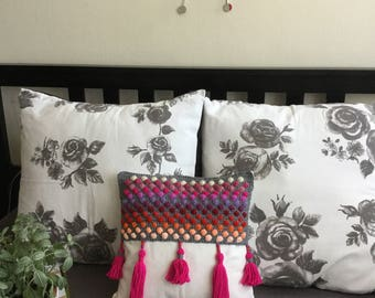Crochet Cushion Cover~ The Dotty Dots