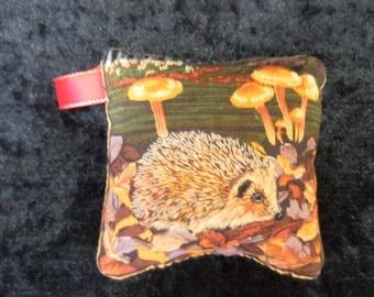 Pin cushion - hedgehog