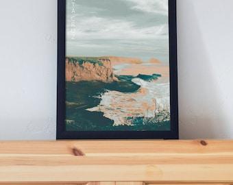Santa Cruz, California Poster 11x17 18x24 24x36