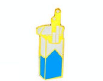 Cigrette Enamel Lapel Pin