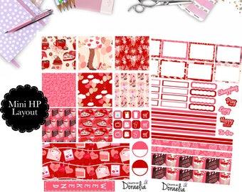 Mini Happy Planner Valentine Chocolate set