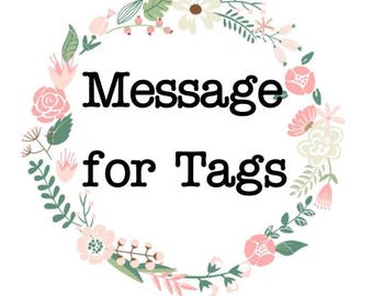 Message for Tag