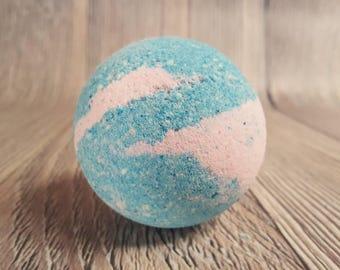 Cotton Candy Large Bath Bomb, Surprise Bomb, Bath Bombs for Kids, Cotton Candy Bath Bomb