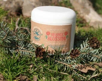 Whipped Body Butter All Natural Orange Blossom 4 oz. Moisturizing Cream