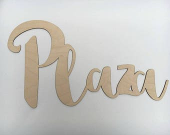 Wood Word cutout, Word wooden cut out, Word shape cutout, Last Name cut out, Wood Words, Wood Sign, Wood Blanks, Wooden Blanks, Name Cutout