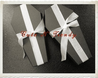 Coffin Wedding Gift Favors ( Unassembled) Set of 12