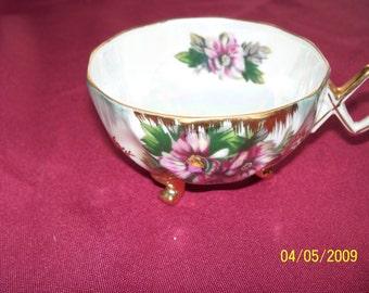Vintage Handpainted Lefton Opalescent Cup